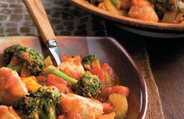 Chicken Vegetable Creole