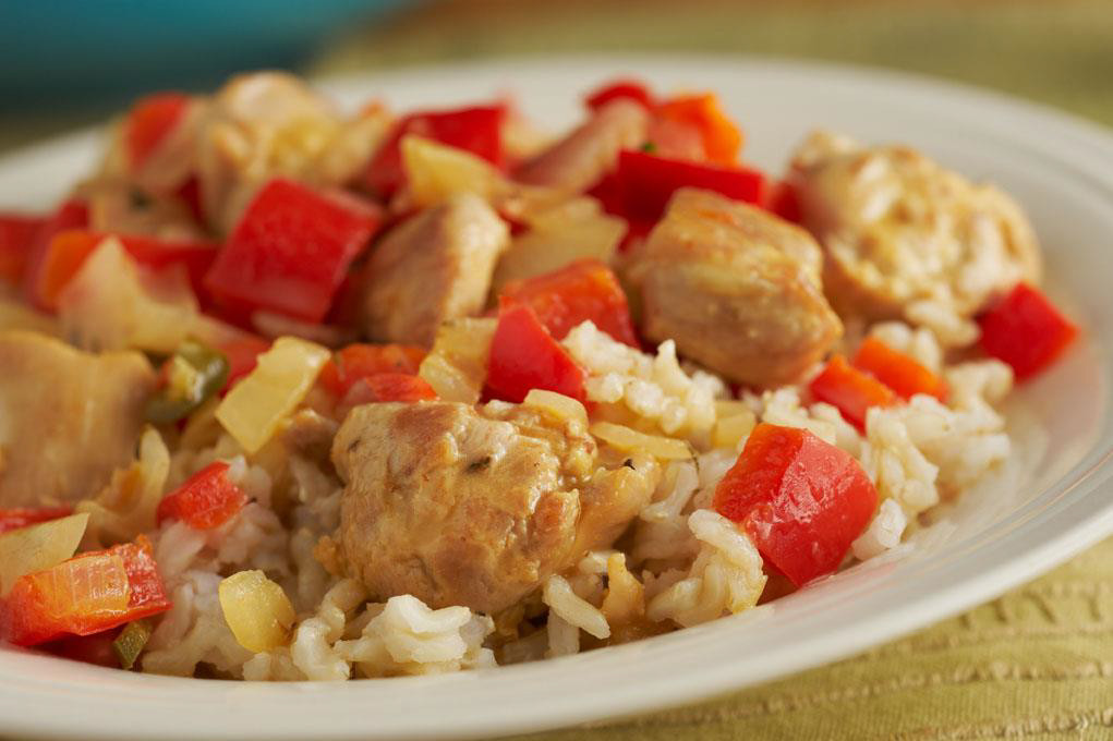 Haitian Style Chicken and Rice