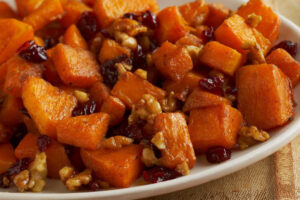 Holiday Roasted Butternut Squash