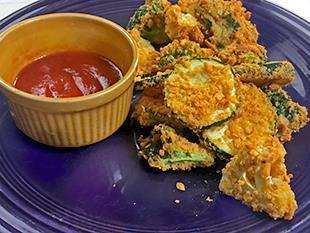 Oven Fried Veggies