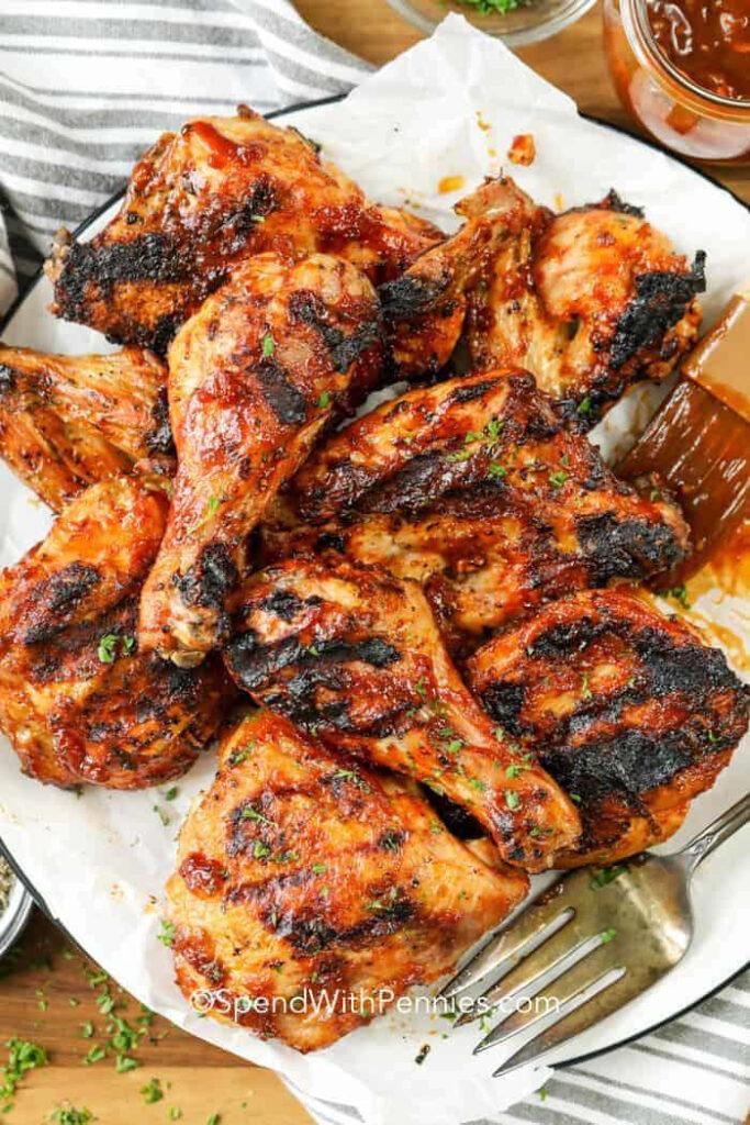Peachy Barbecue Chicken